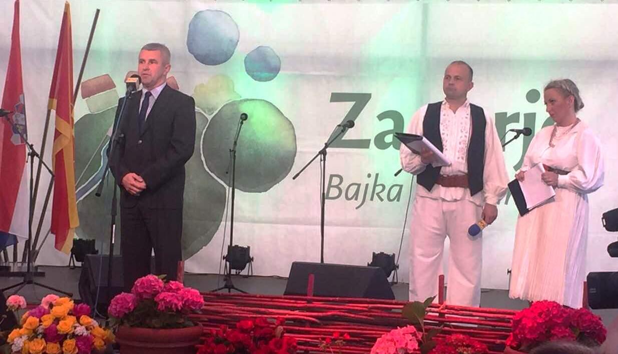 sajam vina 2016 zamjenik ministra poljoprivrede tugomir majdak na pozornici