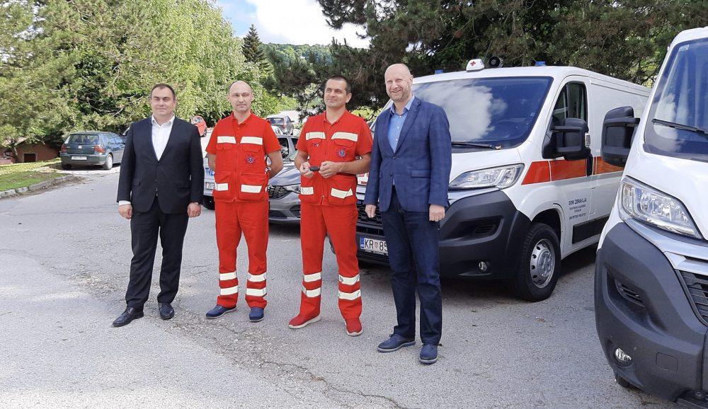 Nova sanitetska vozila za DZ Krapinsko-zagorske županije