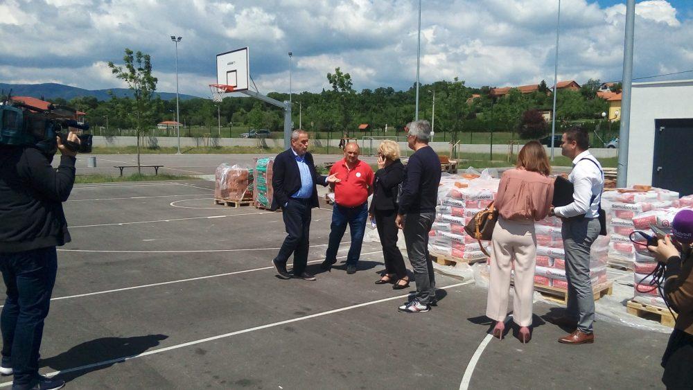 U Zagrebu nastavljena podjela građevinskog materijala