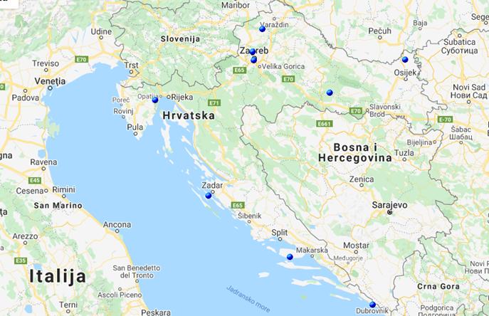 Radio Kaj se, putem mreže odašiljača OIV-a može slušati u čitavoj Hrvatskoj